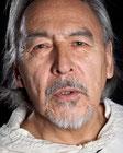 Angaangaq; Schamane, Heiler, Ältester der Eskimo Kalaallit. Foto©SNieder
