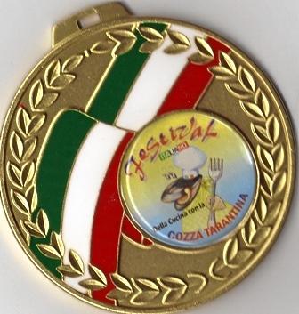 1. Platz beim Festival della cucina italiana