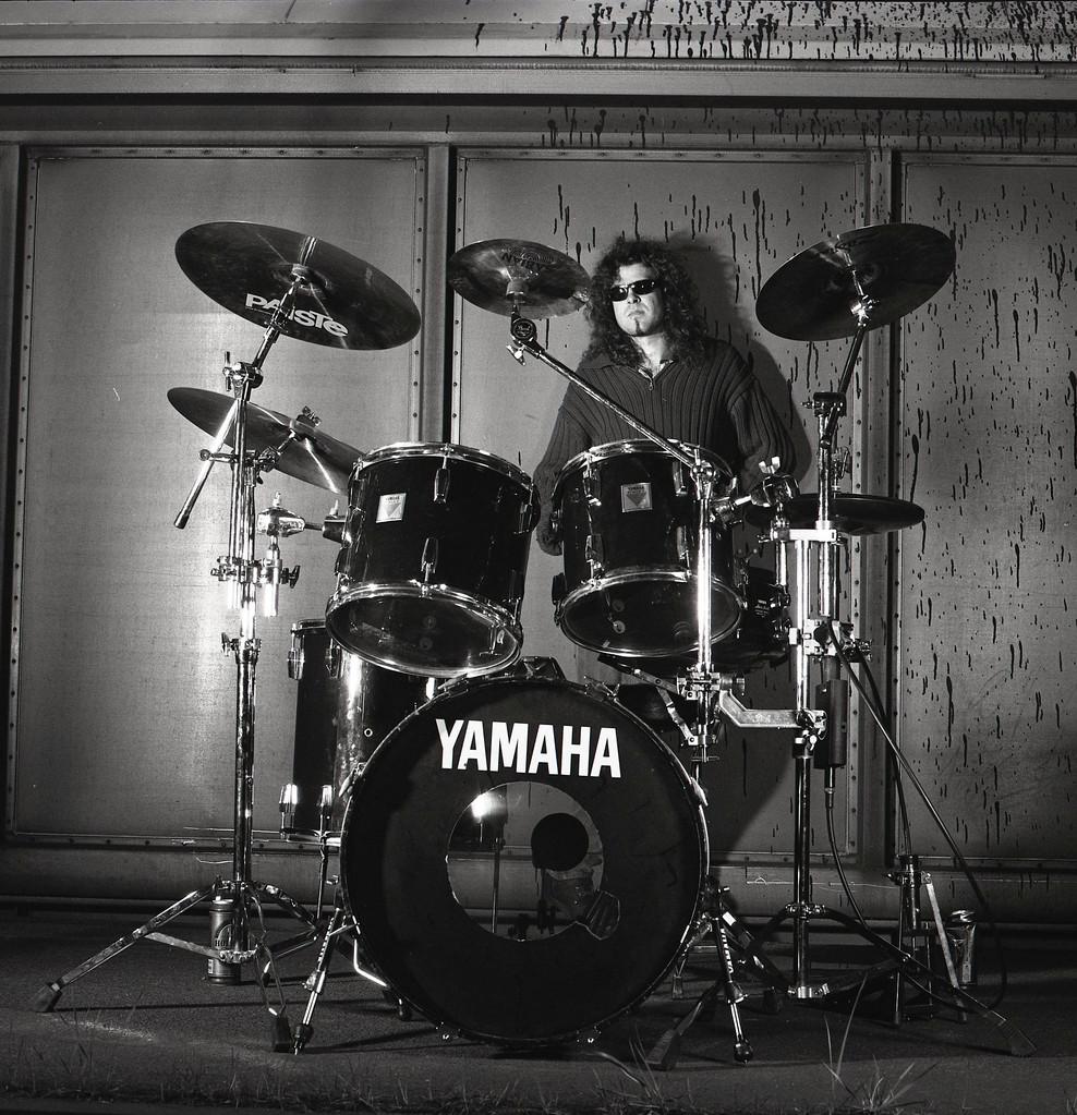 Schlagzeuger Chris Schütte