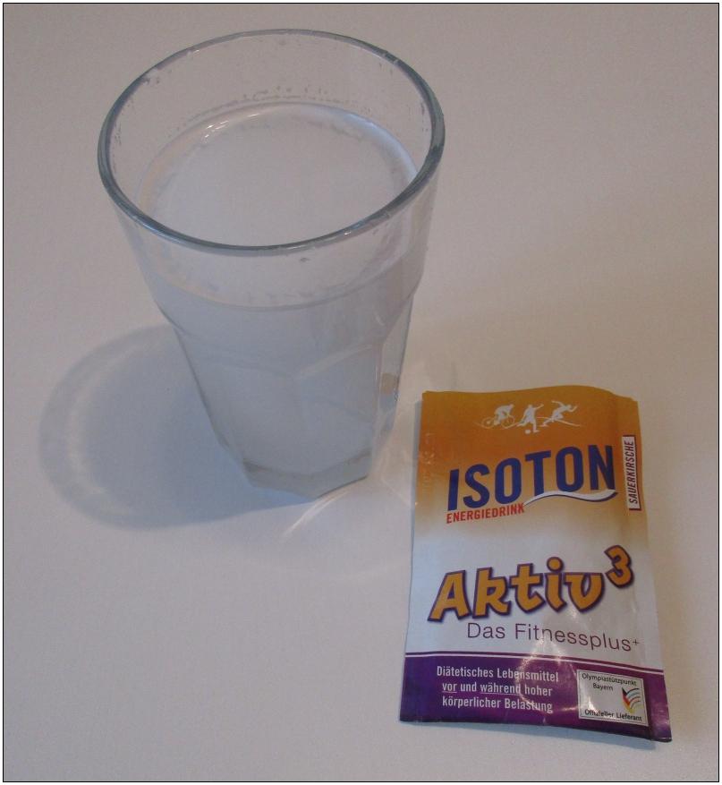 Isoton-Energiedrink (36-g-Sachet)
