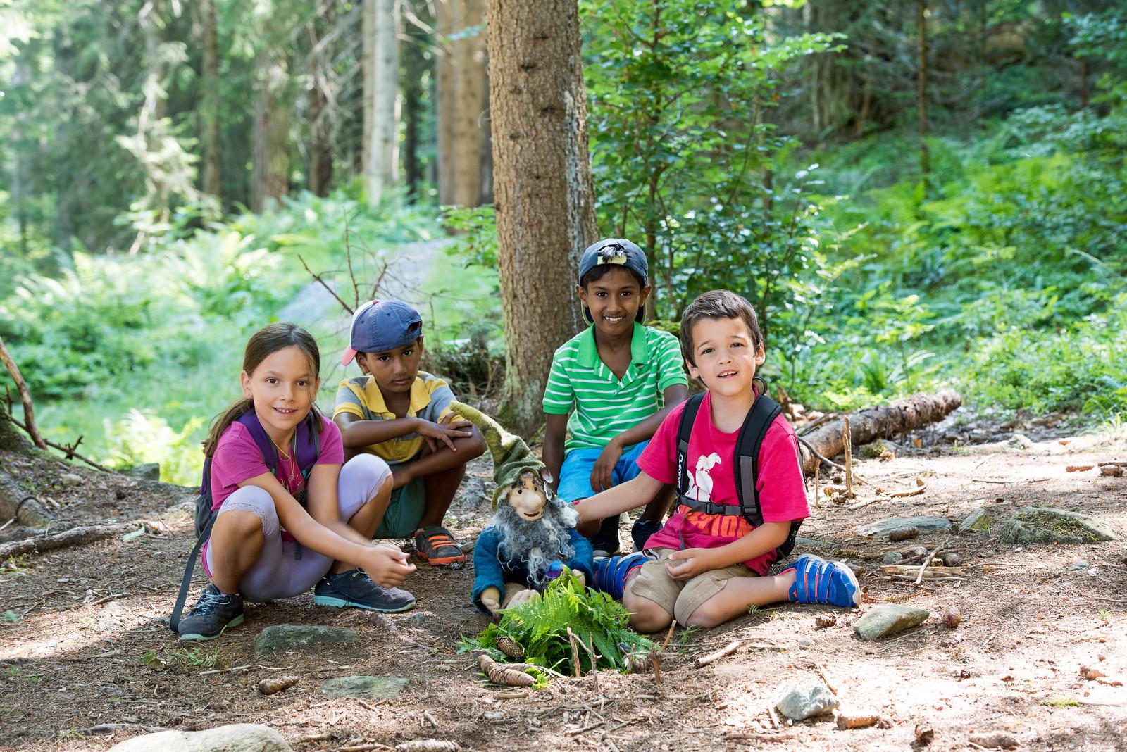 Purzel und Anna, Rishi, Jaiden und Jack