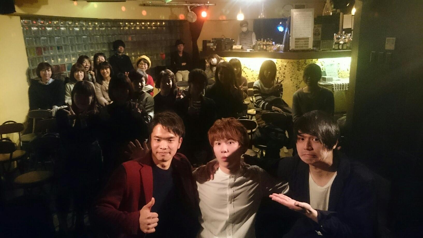 3/4スリーマンライブ満員御礼!