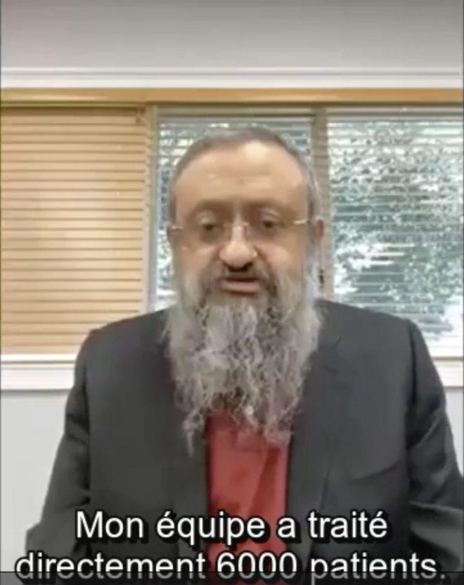 Docteur Zelenko, médecin israélien.