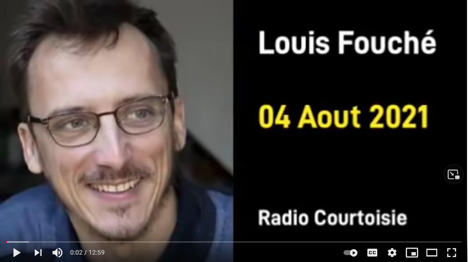 LA RÉSISTANCE SELON LOUIS FOUCH