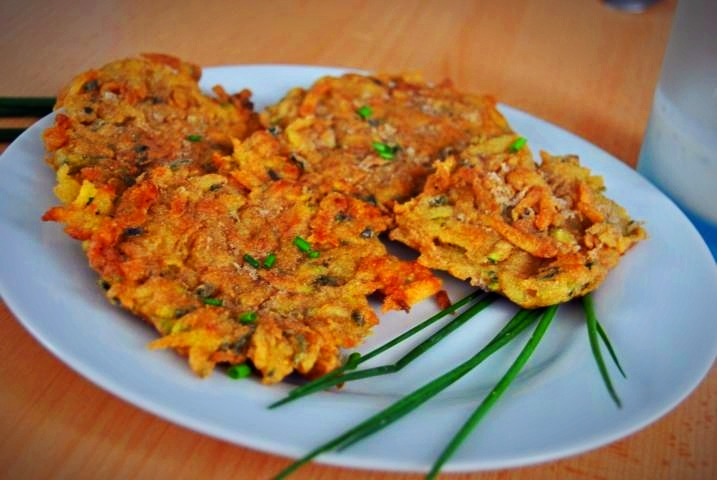 Detox Rezept: Zucchini-Kartoffel-Puffer