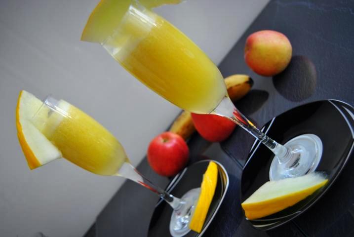 Detox Saft Rezept mit Honigmelonen und Äpfel