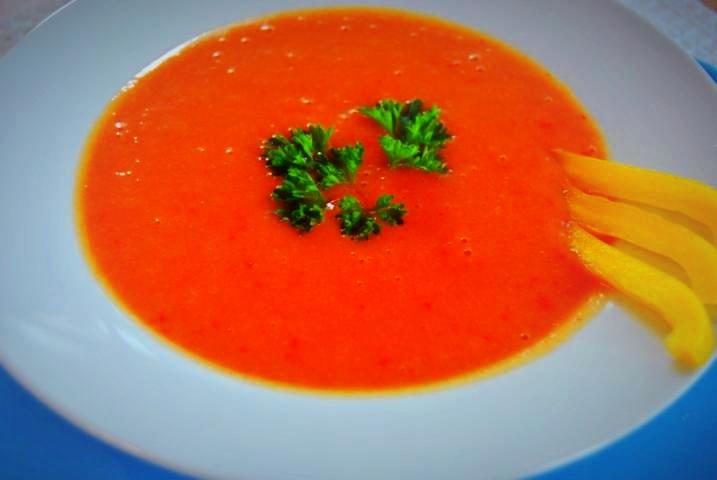 Detox Rezepte Paprika Suppe