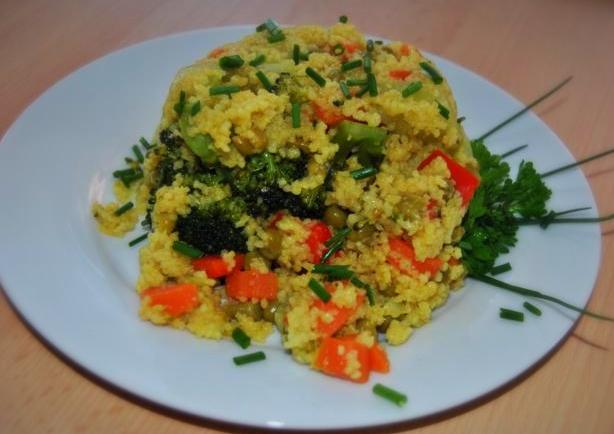 Veganes Detox Rezept: Couscous-Gemüse-Pfanne