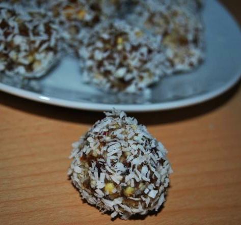 Detox Nachtisch Rezept: Energy Balls