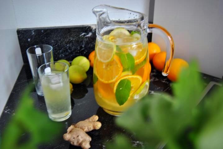 Detox Wasser: Immunsystem Booster