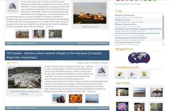 Blog Travelblog Holamundo, Hilterfingen