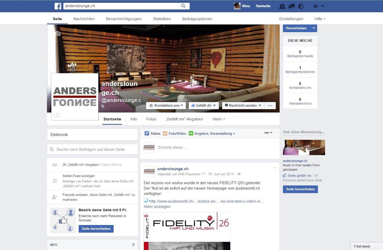Facebook anderslounge, Härkingen