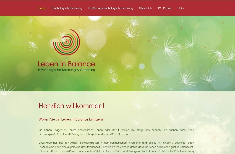 Website Brigitte Jenni, Kreuzlingen