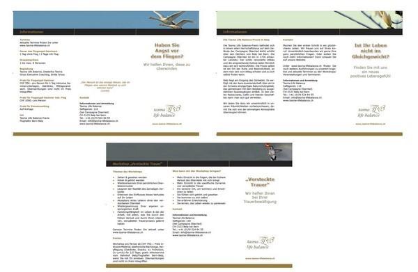 Flyer 5/6 Tasma Life Balance, Belp