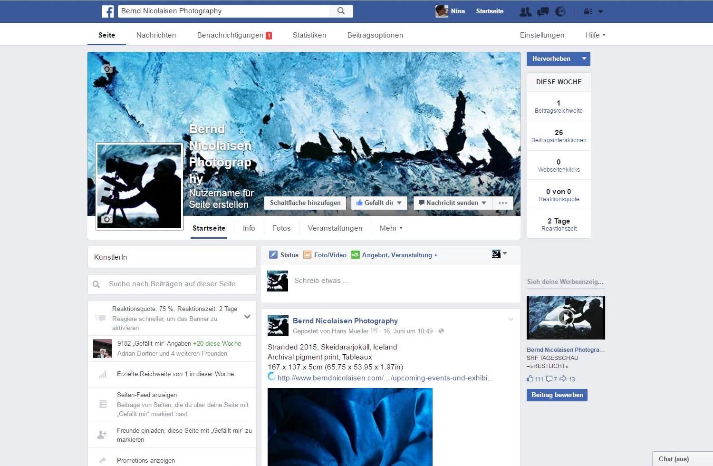 Facebook Bernd Nicolaisen Photography, Frieswil