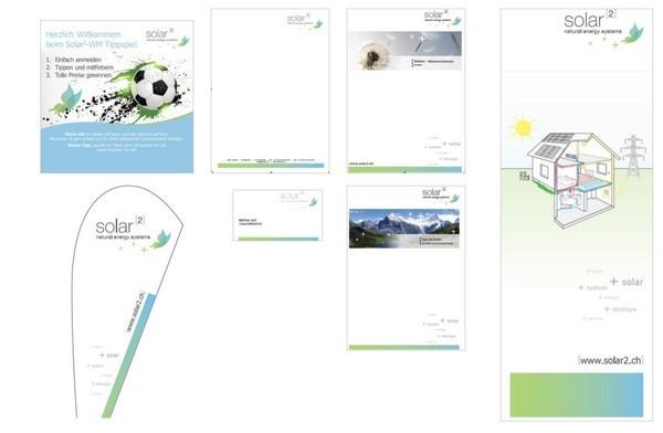 Corperate Design Solar hoch 2, Hilterfingen