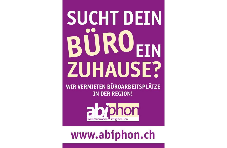 Plakatkampagne abiphon, Uetendorf