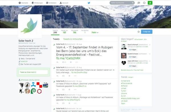 Twitter Solar hoch 2, Hilterfingen