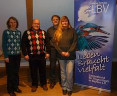Rosmarie Wagenstaller, Karl Pscheidl, Matthias Rohrbacher und Susanne Morgenroth