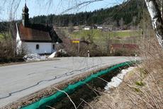 Der Zaun in der Ortschaft Katzenbach