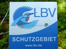 Mit diesen Schildern wurden alle LBV-Grundstücke markiert