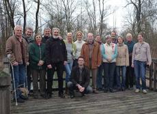 Die Vertreter der niederbayerischen Kreisgruppen mit Karin Hodl, Ruth Waas und Gisela Merkel-Wallner