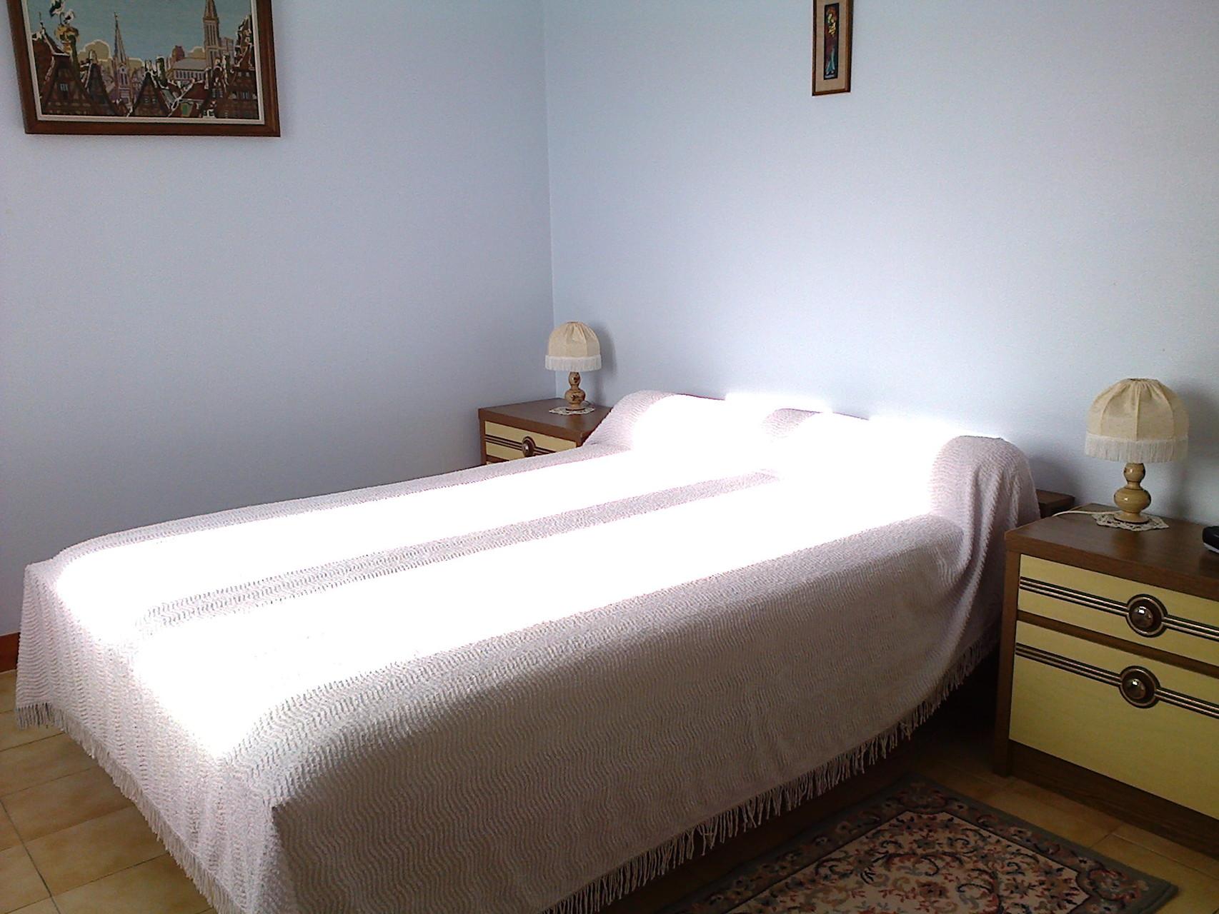 Chambre avec 1 lit pour deux personnes