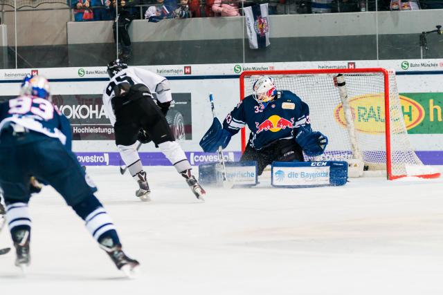 Eugen Alanov machte gegen Red Bull München ein gutes Spiel