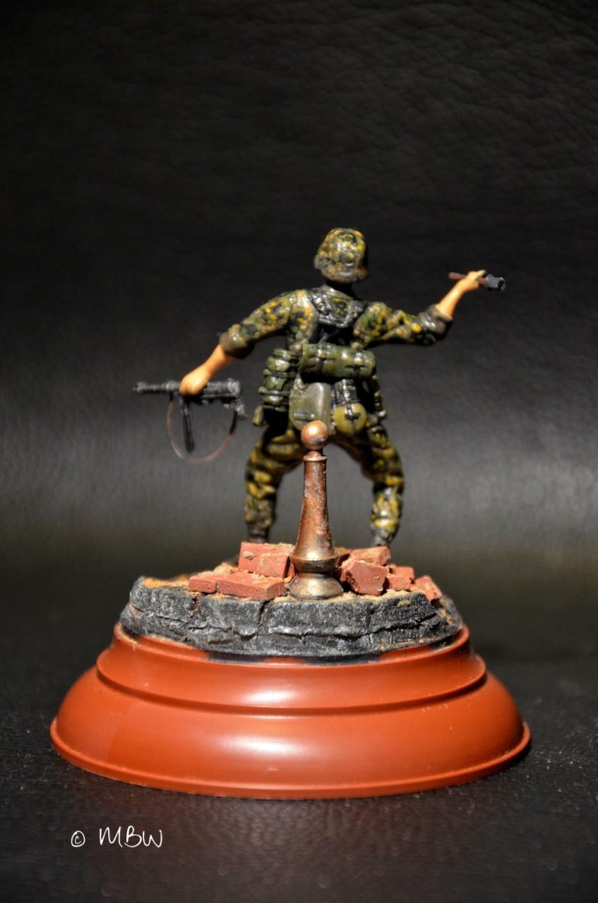 WSS Infanterist - Resin Figur 1:35