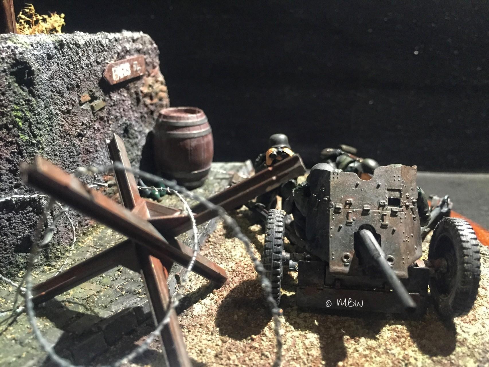 Diorama PAK - 1:35