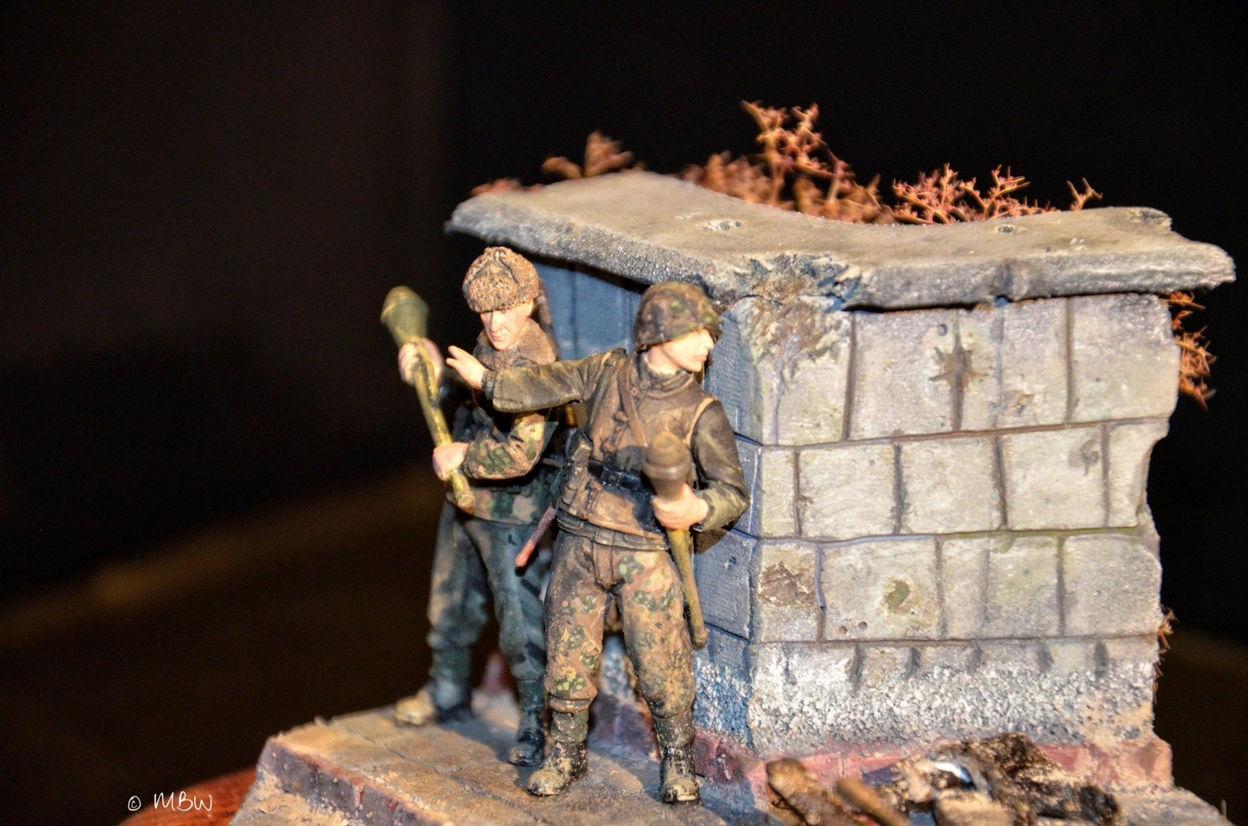 Diorama WSS in Charkow - 1:35