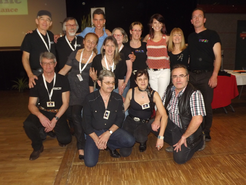 Le Staff ( photo Alain )