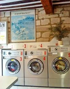 Lavanderia automatica su Avignone
