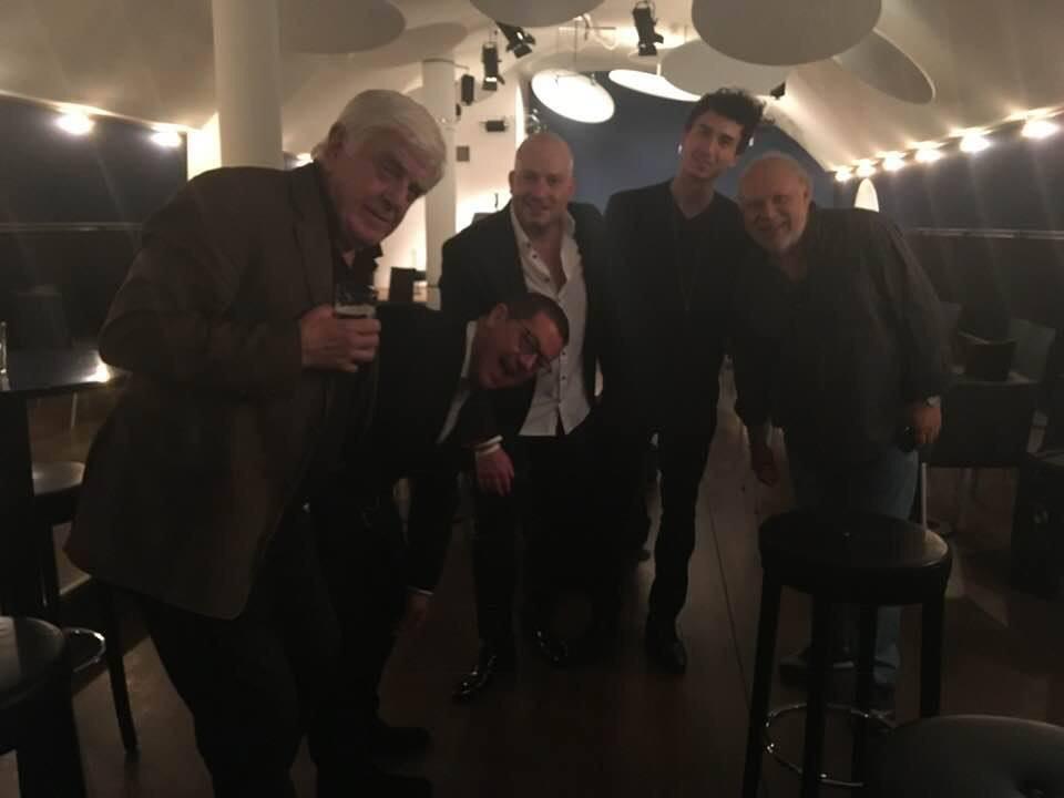 Concert at Birds Eye Basel 11.10.18 with André Weiß, Jim Rotondi,Tony Lakatos,Manfred Josel