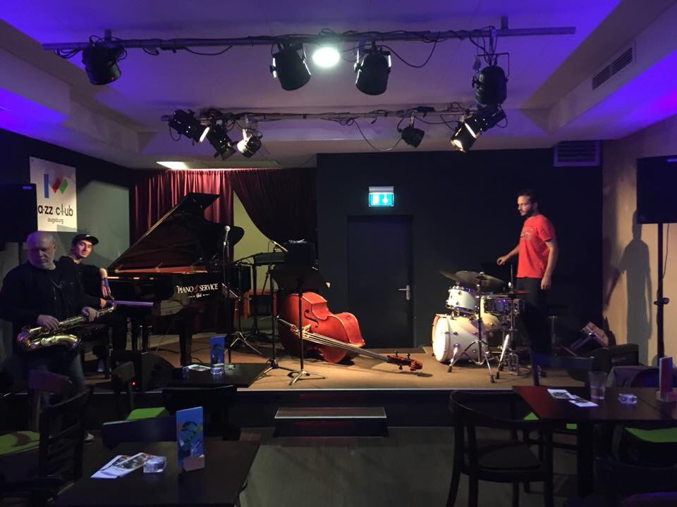 With André Weiß Trio feat.Tony Lakatos at Jazzclub Augsburg 19.10.18