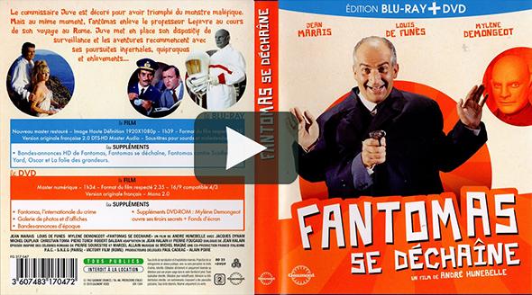 Fantomas se dechaine (1965)
