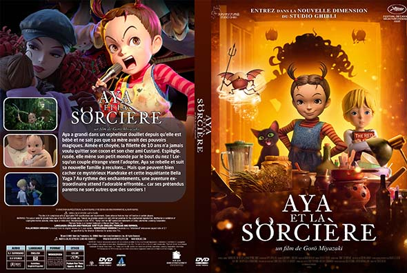 Aya Et La sorcière (Earwig and the Witch)