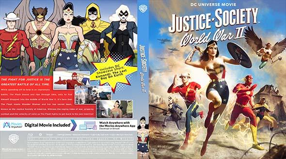 Justice Society World War II BD