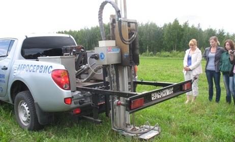 Практическое занятие по отбору проб почв с использованием GPS и Глонасс навигаторов