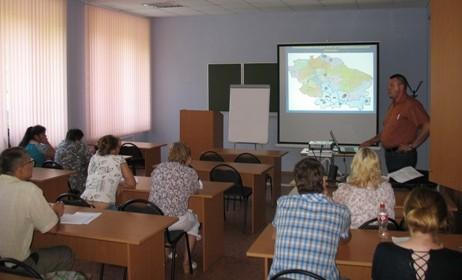 """Обучение по программе """"Диагностика и профилактика африканской чумы свиней..."""", 24-28 июня 2013 года"""