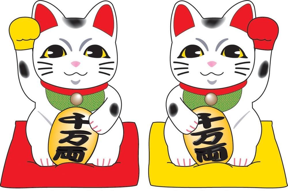 似顔絵サービス・格安似顔絵・招き猫