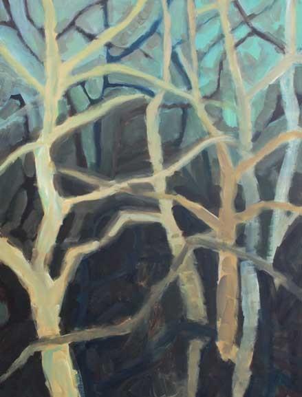 Ohne Titel, 2014 Acryl auf Leinwand 80x60