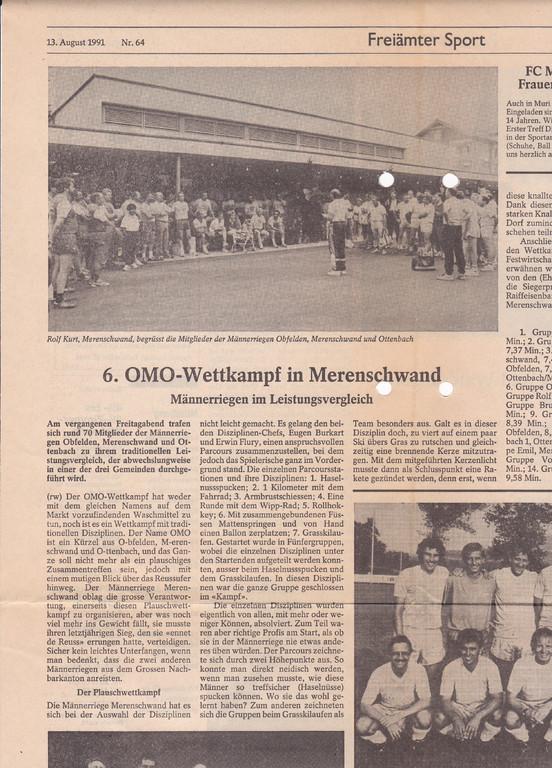 OMO 8.1991