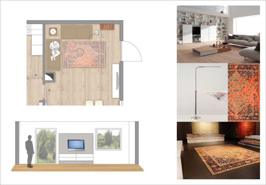 Einrichtungsplanung Wohnzimmer