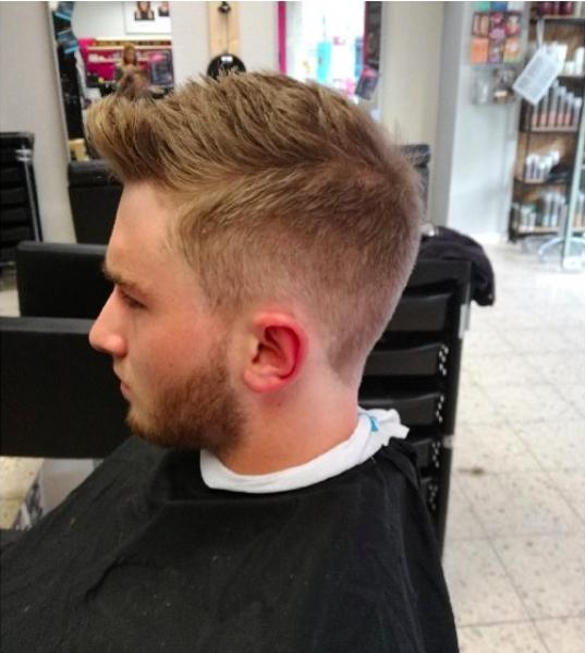 Haarschnitt Bielefeld ohne Termin Männer Barber Shop Styling