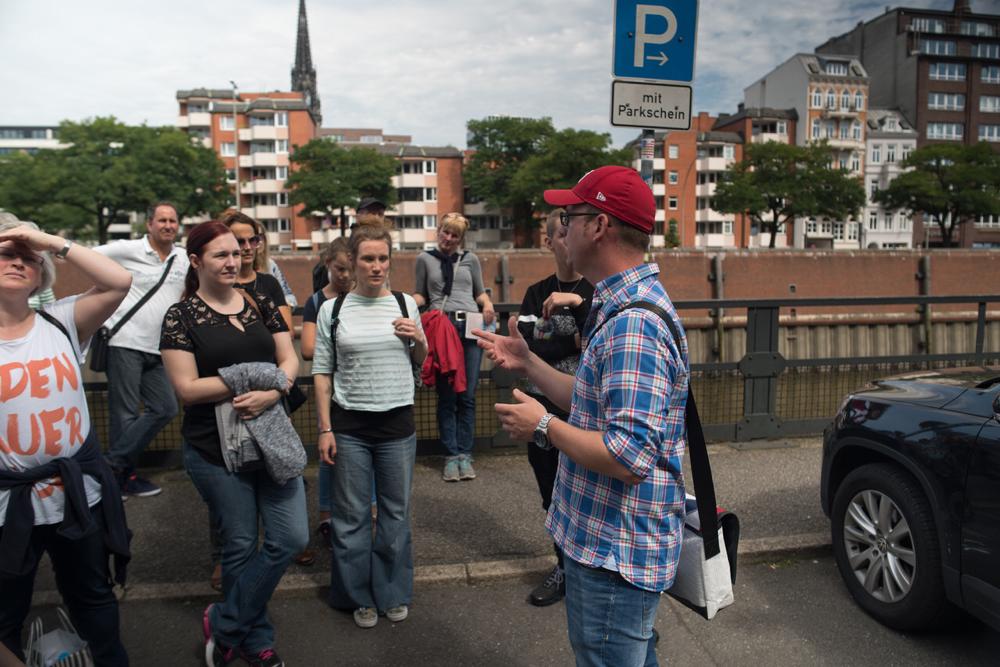 Elbführungen Guide in Speicherstadt