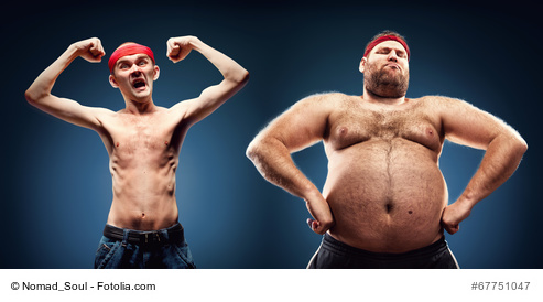 Kann man Körperfett in Muskeln umwandeln ?