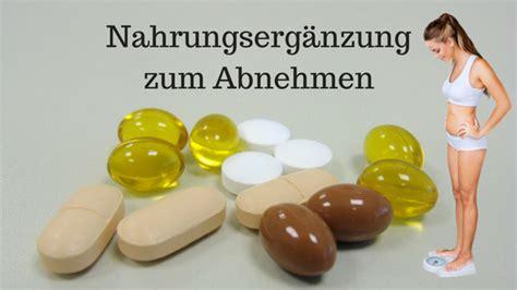 Supplements zum Abnehmen