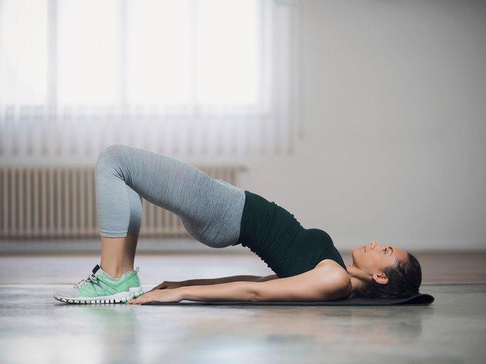 Pilates Brücke