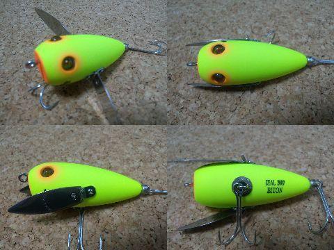 2007年 バイトン 1/2oz (マットチャート) イバラ釣り具イベントオリカラ